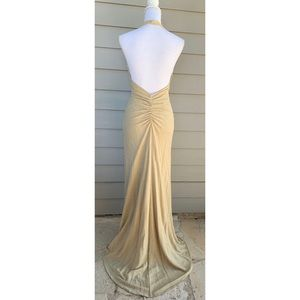 BARI JAY Formal Long Evening Cocktail Party Dress